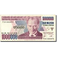 Turquie, 1,000,000 Lira, 1970, KM:213, 1970, TTB+ - Turchia