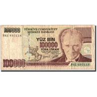 Turquie, 100,000 Lira, 1970, KM:205, 1970-10-14, B - Turchia