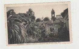 PALERMO - CHIOSTRO E CHIESA SAN GIOVANNI DEGLI EREMITI - VIAGGIATA 1935 - Palermo