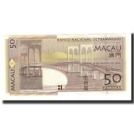 Macau, 50 Patacas, KM:81b, 2009-08-08, NEUF - Macao