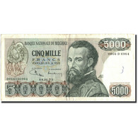 Belgique, 5000 Francs, 1973, KM:137, 1973-01-08, TB+ - [ 2] 1831-... : Koninkrijk België