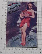 DOROTHY LAMOUR - Vintage PHOTO POSTCARD (339-K) - Actors