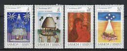 Samoa I Sisifo 1977. Yvert 400-03 ** MNH. - Samoa