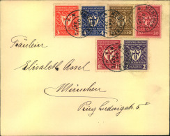 1922, Gewerbeausstellung Kmoplett Auf Sammlerbrief. - Lettres