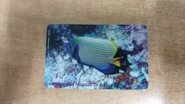 Jordan-(jo-alo-0012)-the Undersea Treasures Of Aqaba-(75)-(2/98--3/2000)-(1jd)-used Card+1 Card Prepiad Free - Giordania