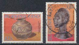°°° BURKINA FASO - Y&T N°1267/68 - 2001 °°° - Burkina Faso (1984-...)