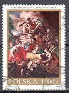 Poland 1991 - Nativity Scene, By Francesco Solimena - Mi 3350 - Used Gestempelt - 1944-.... Repubblica