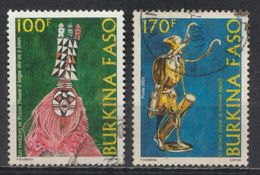 °°° BURKINA FASO - Y&T N°1286/87 - 2003 °°° - Burkina Faso (1984-...)