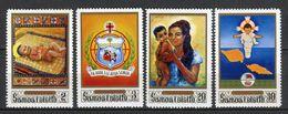 Samoa I Sisifo 1970. Yvert 270-73 ** MNH. - Samoa