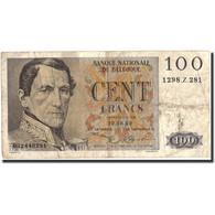 Belgique, 100 Francs, 1952, KM:129a, 1952-10-02, TB - [ 2] 1831-... : Belgian Kingdom