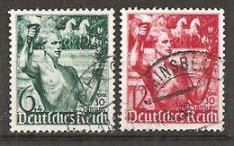 DR 1938 // Michel 660/661 O (5003) - Deutschland
