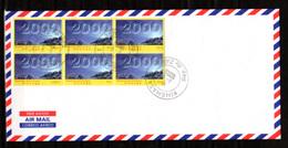 2000    R.D.C 1828 / 1730 Sur Enveloppe, Cote 23 €, - République Démocratique Du Congo (1997 -...)