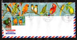 2000    R.D.C Perroquets Des Tropiques, 1835 / 1854 Sur Enveloppe, Cote 44,50 €, - Papegaaien, Parkieten
