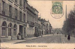 78 YVELINES POISSY RUE DE PARIS MAGASINS - Poissy