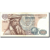 Belgique, 1000 Francs, 1973, KM:136b, 1973-01-09, TTB - [ 2] 1831-... : Belgian Kingdom