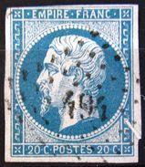 PC 494 - BOUXVILLER - BAS RHIN - 1849-1876: Periodo Classico