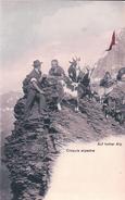 Croquis Alpestre, Chèvres Et Berger (cpn 5) - Elevage