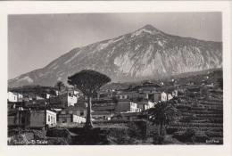 TENERIFE - El Teide, Fotokarte (2) Um 1935 - Tenerife