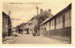 Hollogne Aux Pierres Rue De L'hotel Communal  Voie De Tram - Grâce-Hollogne