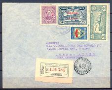 PARAGUAY , CERTIFICADO CIRCULADO ENTRE ASUNCION Y BUENOS AIRES. - Paraguay