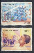 °°° BURKINA FASO - Y&T N°276/77 PA - 1985 °°° - Burkina Faso (1984-...)
