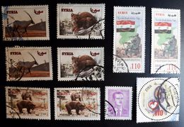 Syria,Syrie, #2014,2013,2012, 10 Stamps ,Cancelled. - Syrie
