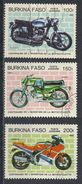 °°° BURKINA FASO - Y&T N°290/92 PA - 1985 °°° - Burkina Faso (1984-...)