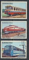 °°° BURKINA FASO - Y&T N°294/96 PA - 1985 °°° - Burkina Faso (1984-...)