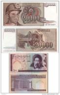 Lot 2 Billets Du Monde - Monnaies & Billets
