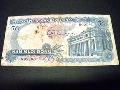 VIET-NAM DU SUD 50 Dong 1969 , Pick N° 25 , SOUTH VIETNAM - Viêt-Nam