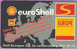 Télécarte Bulgarie °° Euroshell Europe - 10 2001 - Bulgarie