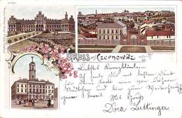 Litho Czernowitz Cernauti Bukowina Bucovina Ex - Romania 1897 - Ukraine