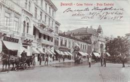 Bucuresti Calea Victoriei Piata Teatrului - Romania