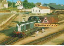 BB 66000 En Manoeuvre, En Gare D'Alençon (61)  - - Stations With Trains