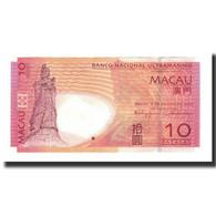 Macau, 10 Patacas, KM:80, 2005-08-08, NEUF - Macau