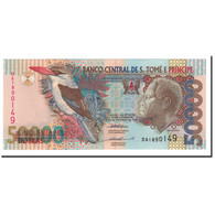 Saint Thomas And Prince, 50,000 Dobras, 1996, 1996-10-22, KM:68a, NEUF - Sao Tomé Et Principe