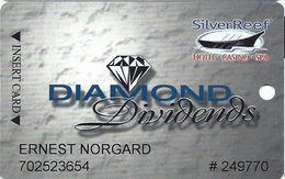 Silver Reef Casino - Ferndale, WA - Slot Card - Copyright 2007 - Casino Cards