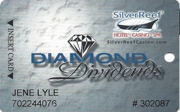 Silver Reef Casino - Ferndale, WA - Slot Card - Copyright 2008 - Casino Cards