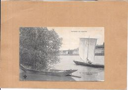 AMBOISE - 37 - Les Bords De La Loire - BERG - CPA DOS SIMPLE - - Amboise