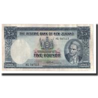 Nouvelle-Zélande, 5 Pounds, Undated 1940-1967, KM:160d, TTB - Nouvelle-Zélande