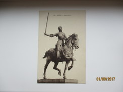 FRANCE  REIMS JEANNE D`ARC  MONUMENT , HORSE    , K0 - Monuments