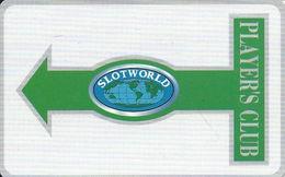 Slotworld Casino - Carson City, NV - Slot Card - BLANK - Casino Cards