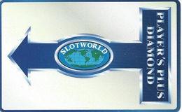 Slotworld Casino - Carson City, NV - Slot Card - Diamond Level BLANK - Casino Cards