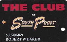 South Point Casino - Las Vegas, NV - Slot Card - 2 Phone#s - No Manufacturer# - Casino Cards