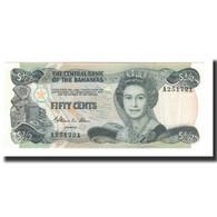 Bahamas, 1/2 Dollar, L.1974 (1984), KM:42a, NEUF - Bahamas