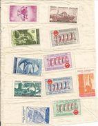 TURQUIE  /  11 Timbres  Neufs  Sur  Feuille - 1921-... Republic