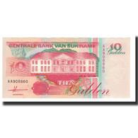 Surinam, 10 Gulden, 1991-07-09, KM:137a, NEUF - Surinam