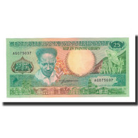 Surinam, 25 Gulden, 1988-01-09, KM:132b, NEUF - Surinam