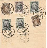 TURQUIE  /   N°  912 / 917  /  Oblitération  IZMIR  15 - 8 - 1939 - 1921-... Republic