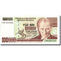 Turquie, 100,000 Lira, 1970, KM:205, 1970, SUP - Turchia